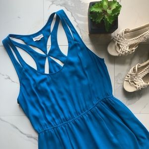 Silence + Noise Urban Outfitters Blue Dress